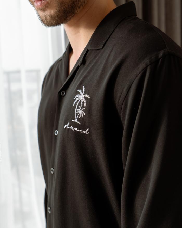 Palm Tree Long Sleeve Shirt