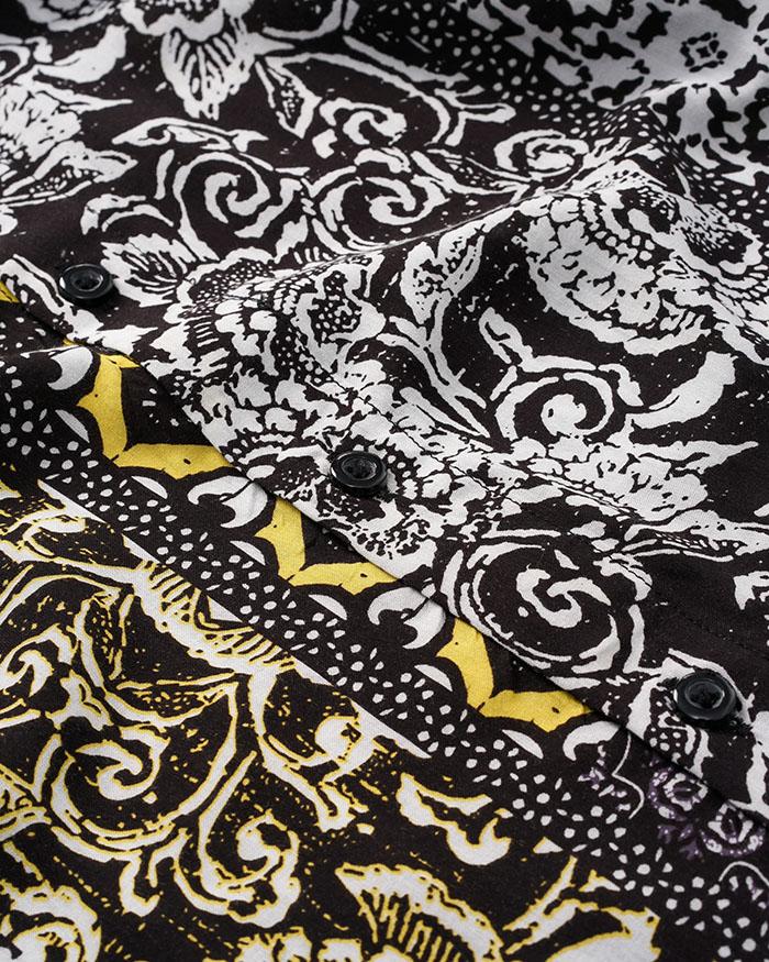 Bandana Pattern Shirt
