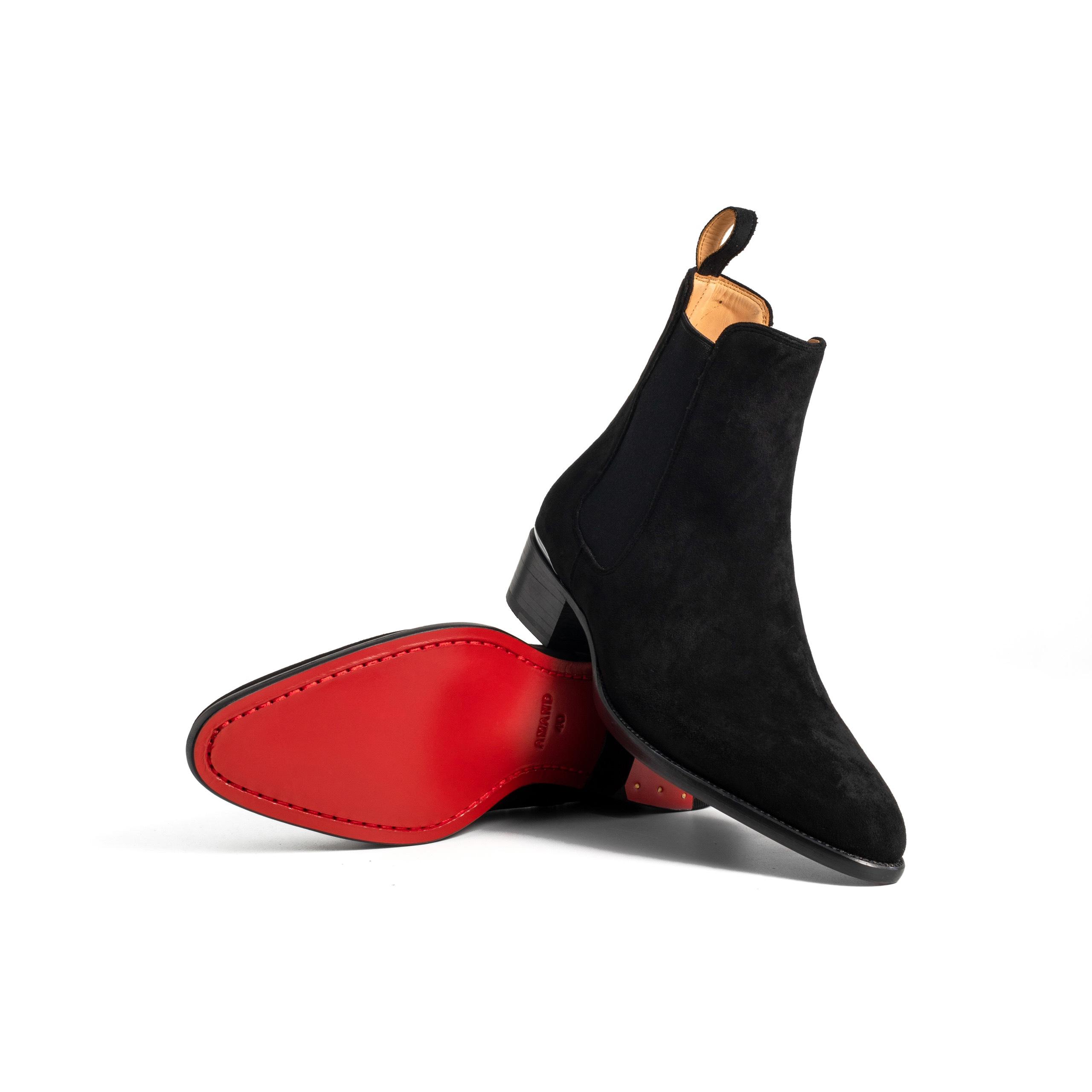 Signature Brown Heel Chelsea Boots