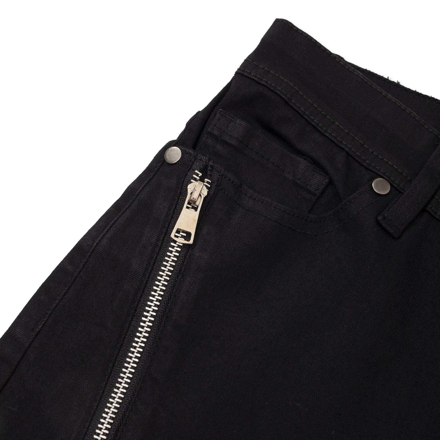 Long Zipper Jeans