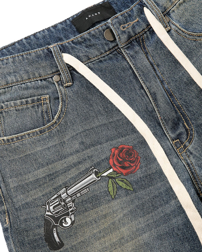 Gun&Rose Short