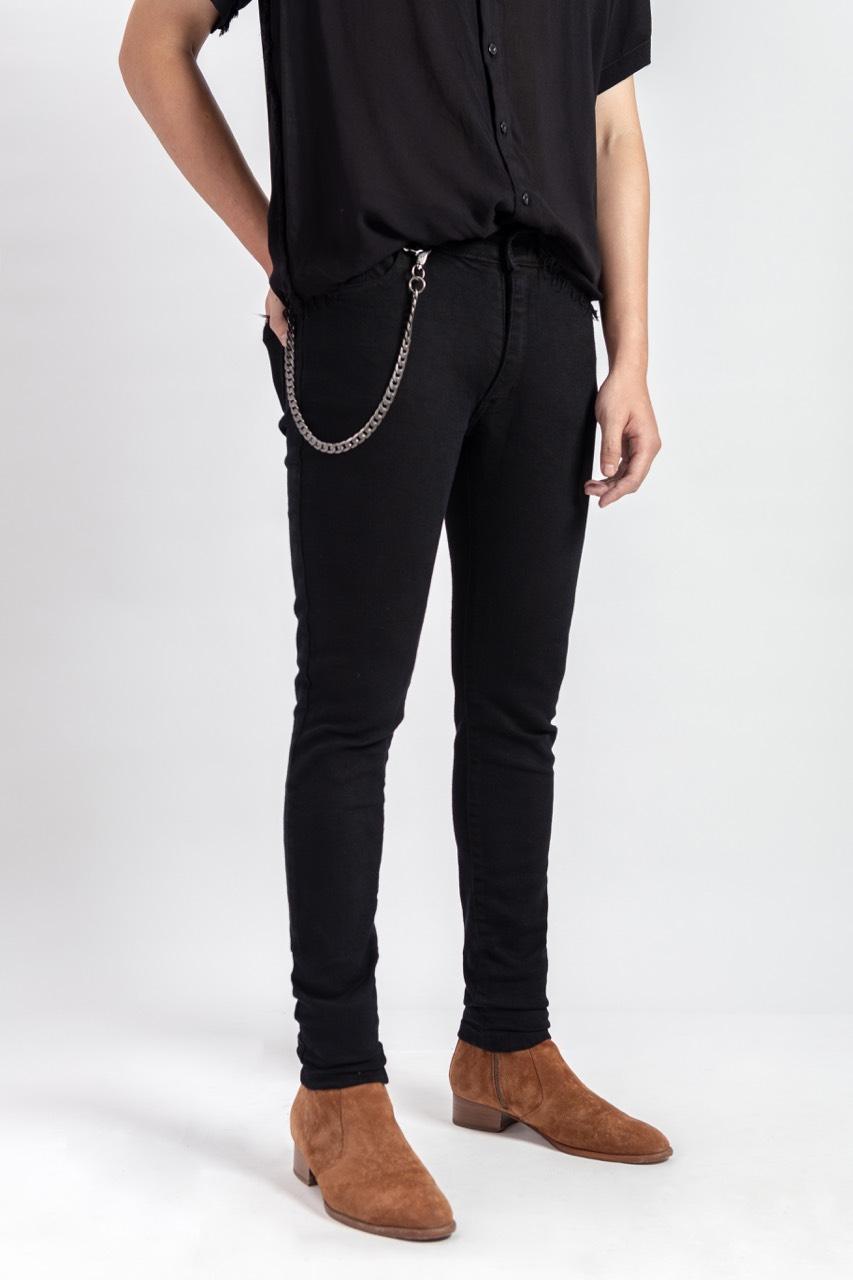 Amand Black Skinny Jeans
