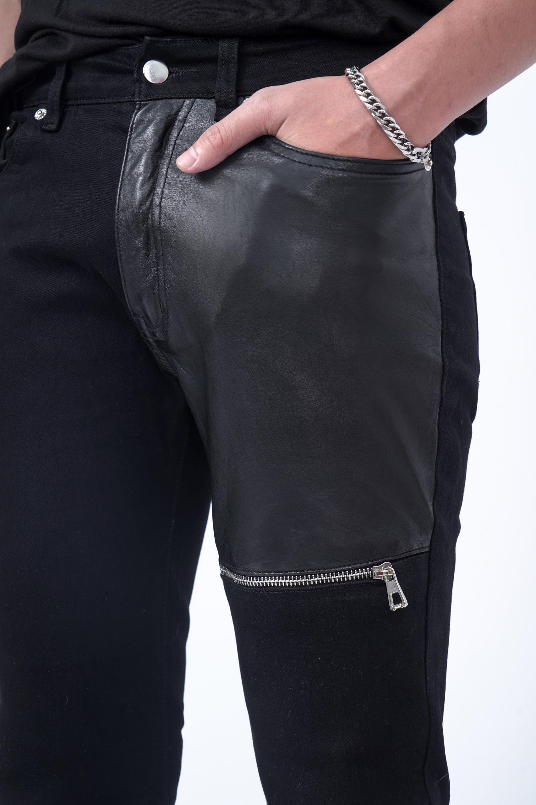 Amand Black Jeans ( Pha Da )