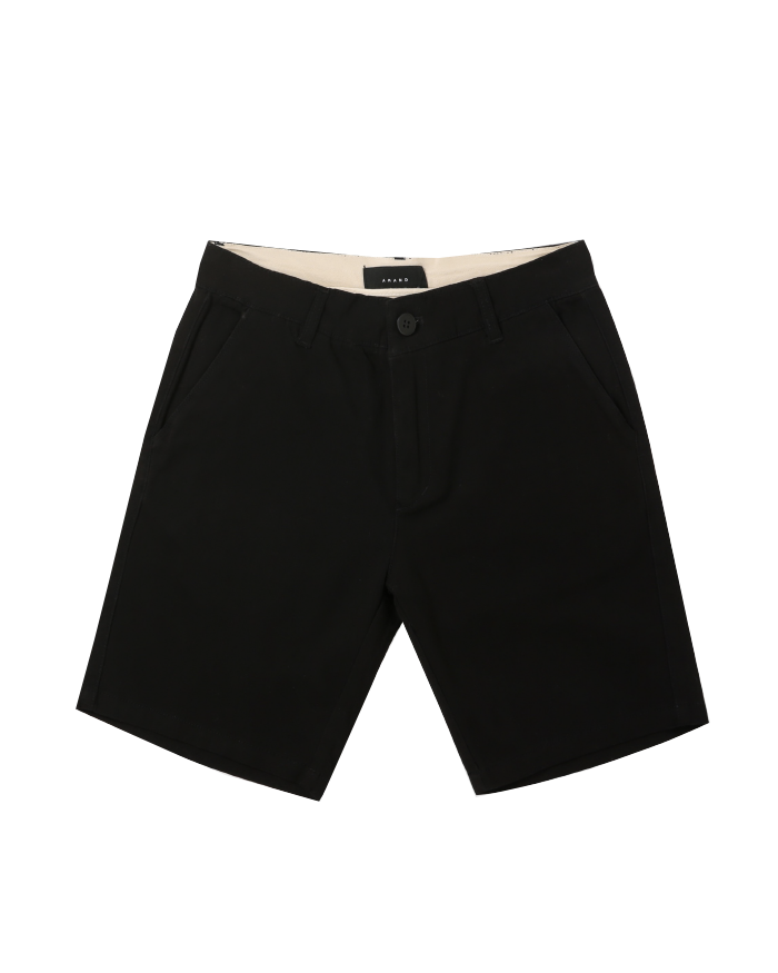 Black Kaki Short