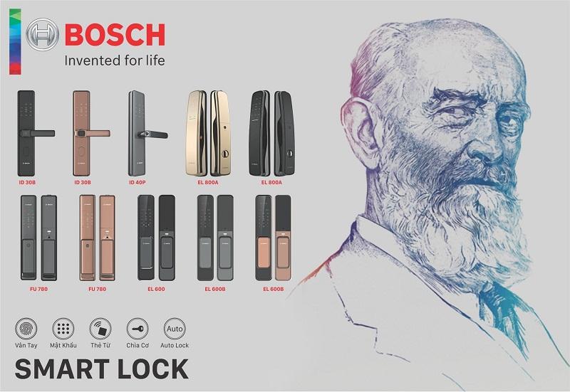 Khóa cửa vân tay BOSCH EL800A 1
