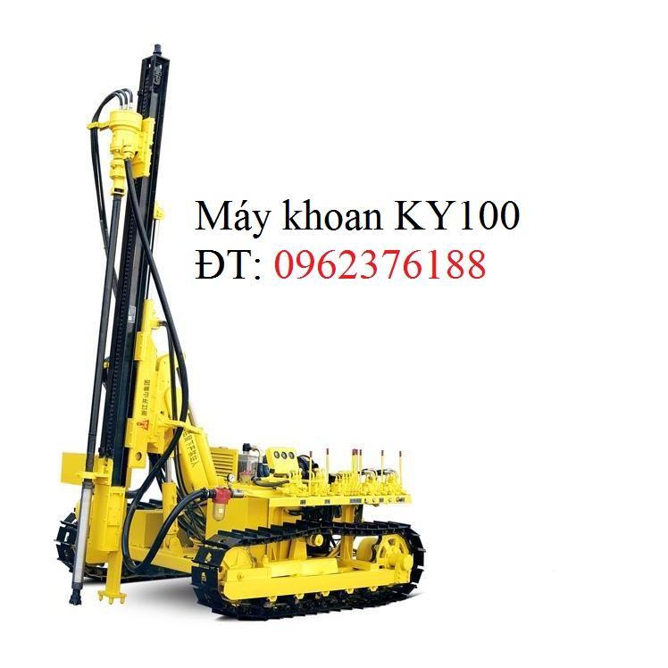 Máy khoan đá tự hành KG910, hiệu Kaishan.
