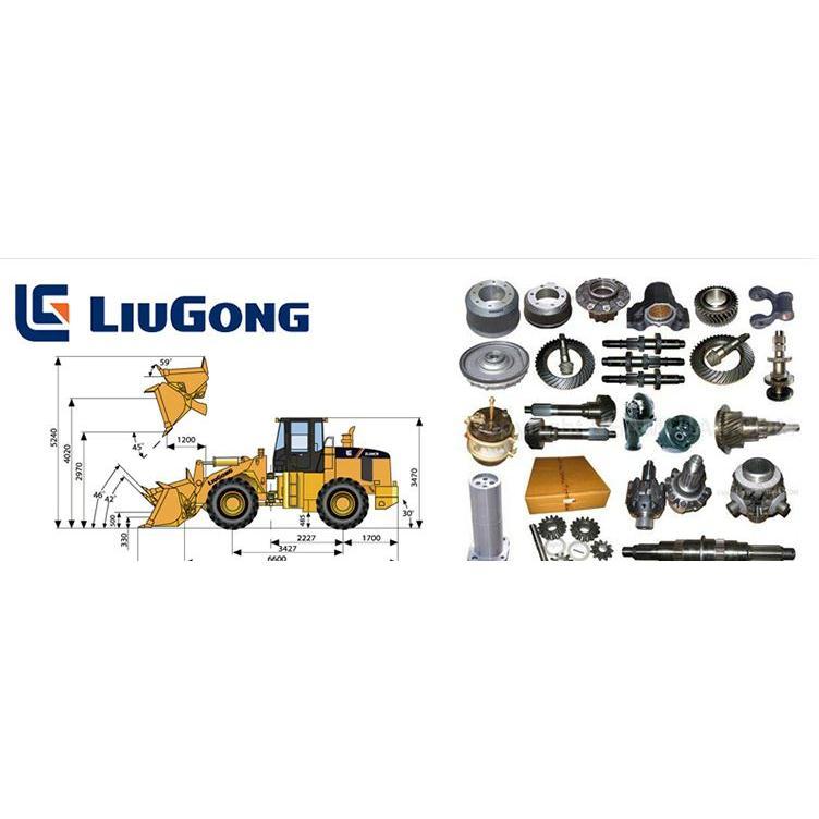 Phụ tùng chính hãng máy LiuGong