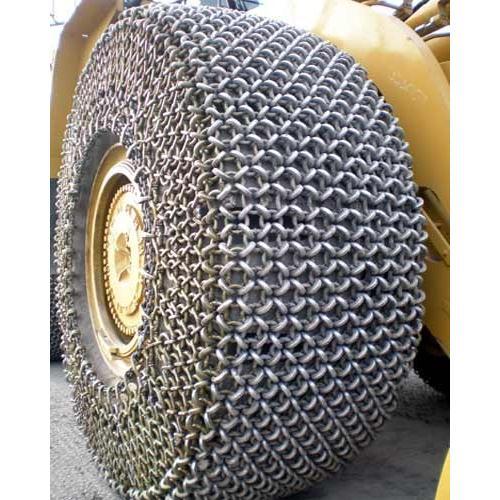 Xích bọc lốp xúc lật, ô tô