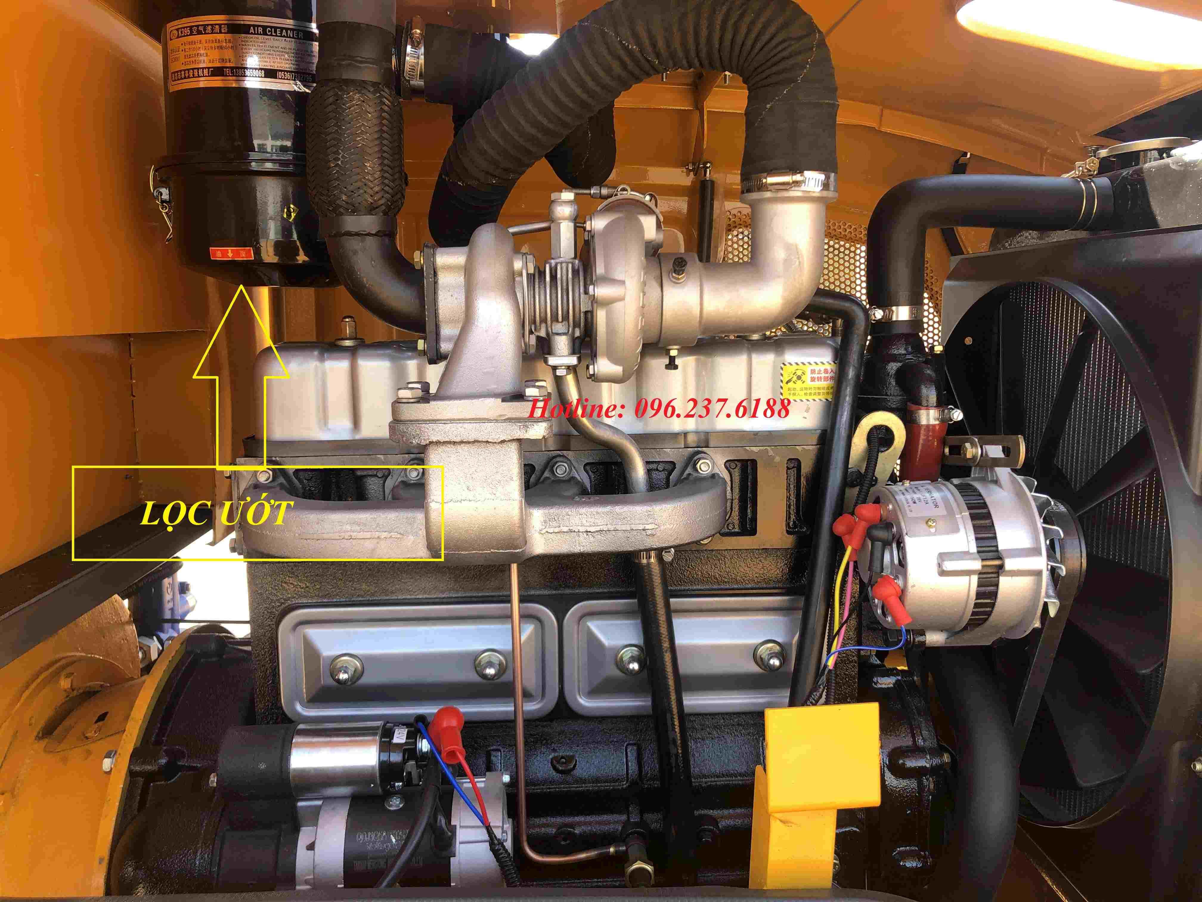 máy xúc lật 1,6m3 laigong WL936