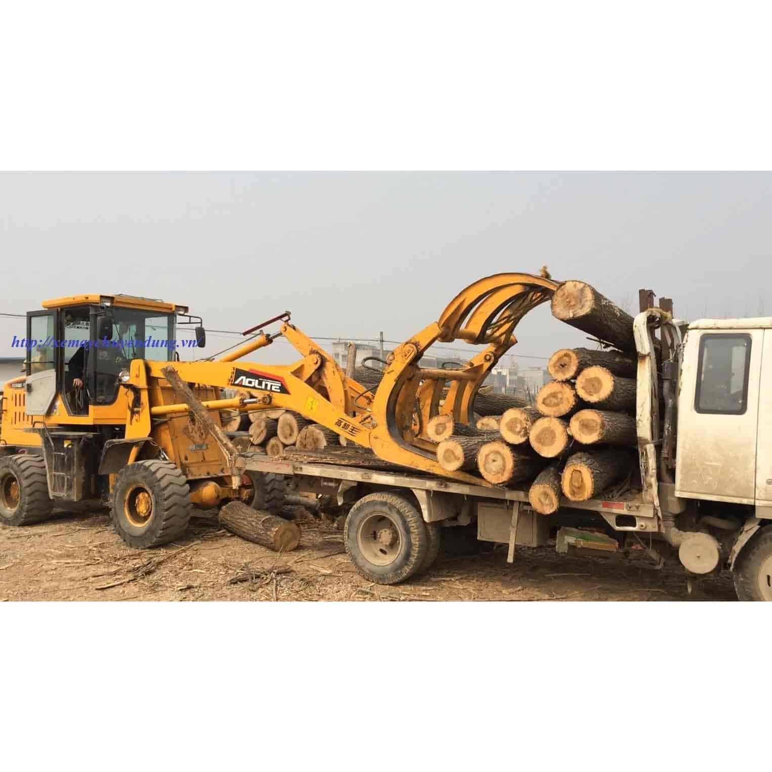 Máy Gắp gỗ, mía, quế; kẹp gỗ, mía, quế MR926 cần dài 4,6m