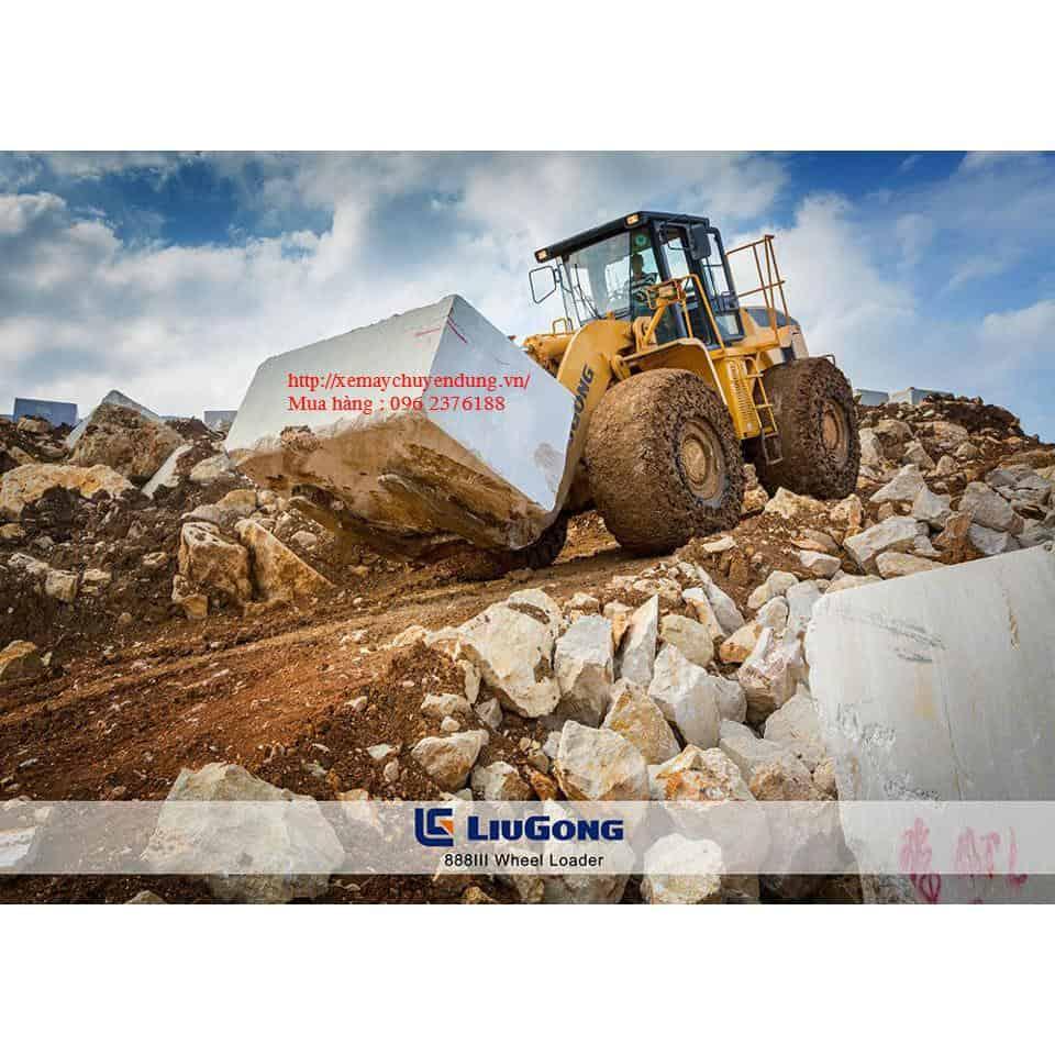Máy nâng đá siêu trọng JinGong, 16 tấn