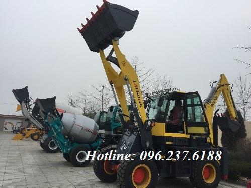 Máy Xúc Đào Liên Hợp 2 Đầu Trung Quốc Giá Rẻ