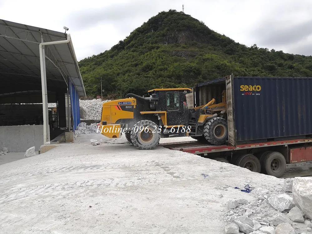 Máy Xúc Lật Chui Container