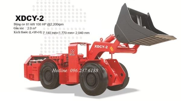 Máy xúc lật chui hầm 2m3 XIANDAI XDCY-2