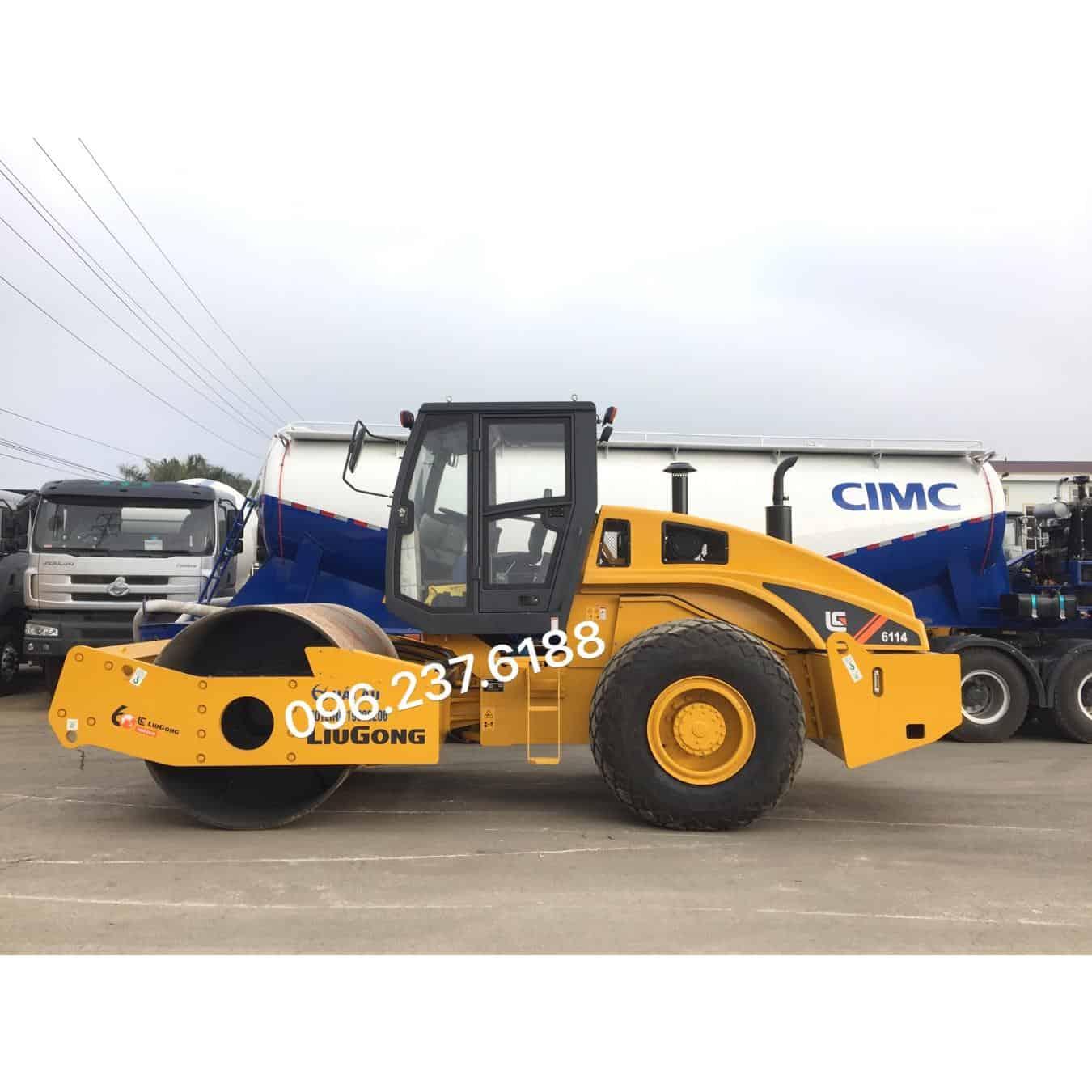 Xe Lu Rung LIUGONG 14 (tấn) CLG6114 || Rung 30 Tấn.