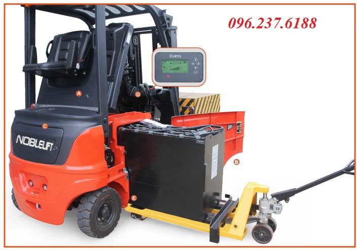 Xe nâng điện ngồi lái 1.6 tấn FE4P16N