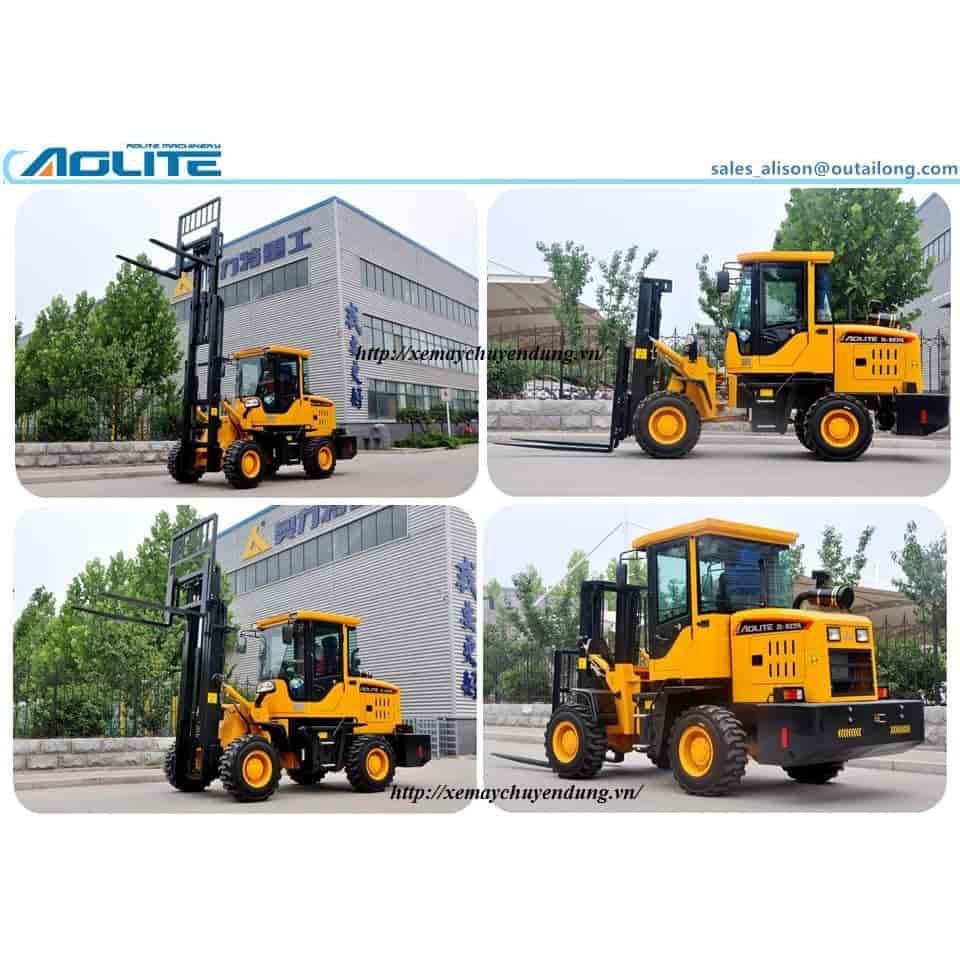 Xe nâng xúc lật Trung Quôc Aolite 1 - 3 tấn