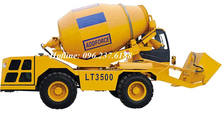Xe Trộn Bê Tông Tự Nạp Liệu ADDFORCE LT3500