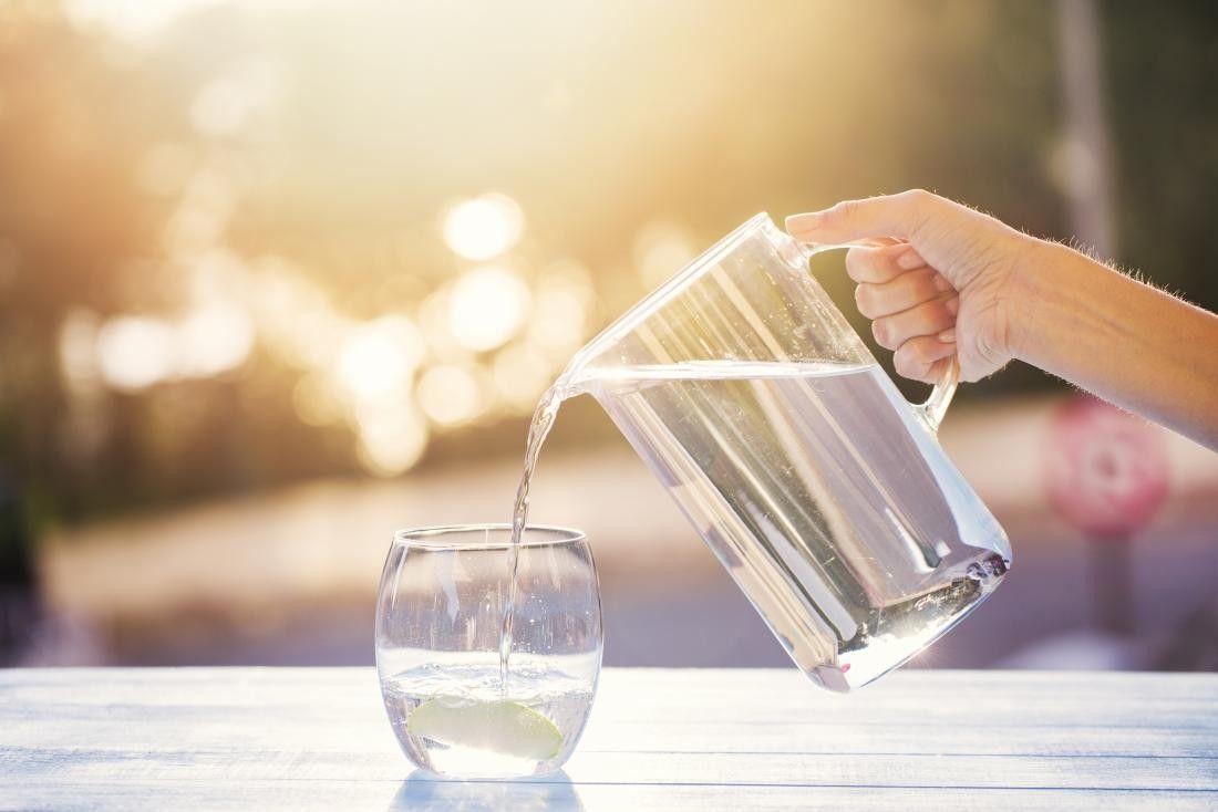Nước đóng vai trò rất quan trọng cho cơ thể