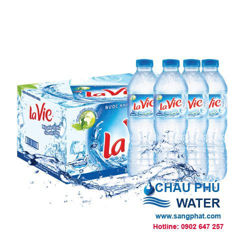 thung nước suối lavie 500ml