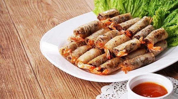 Quán ăn, ẩm thực: Bánh tráng chả ram Mikiri cho chả giò hấp dẫn Cha-ram-tom