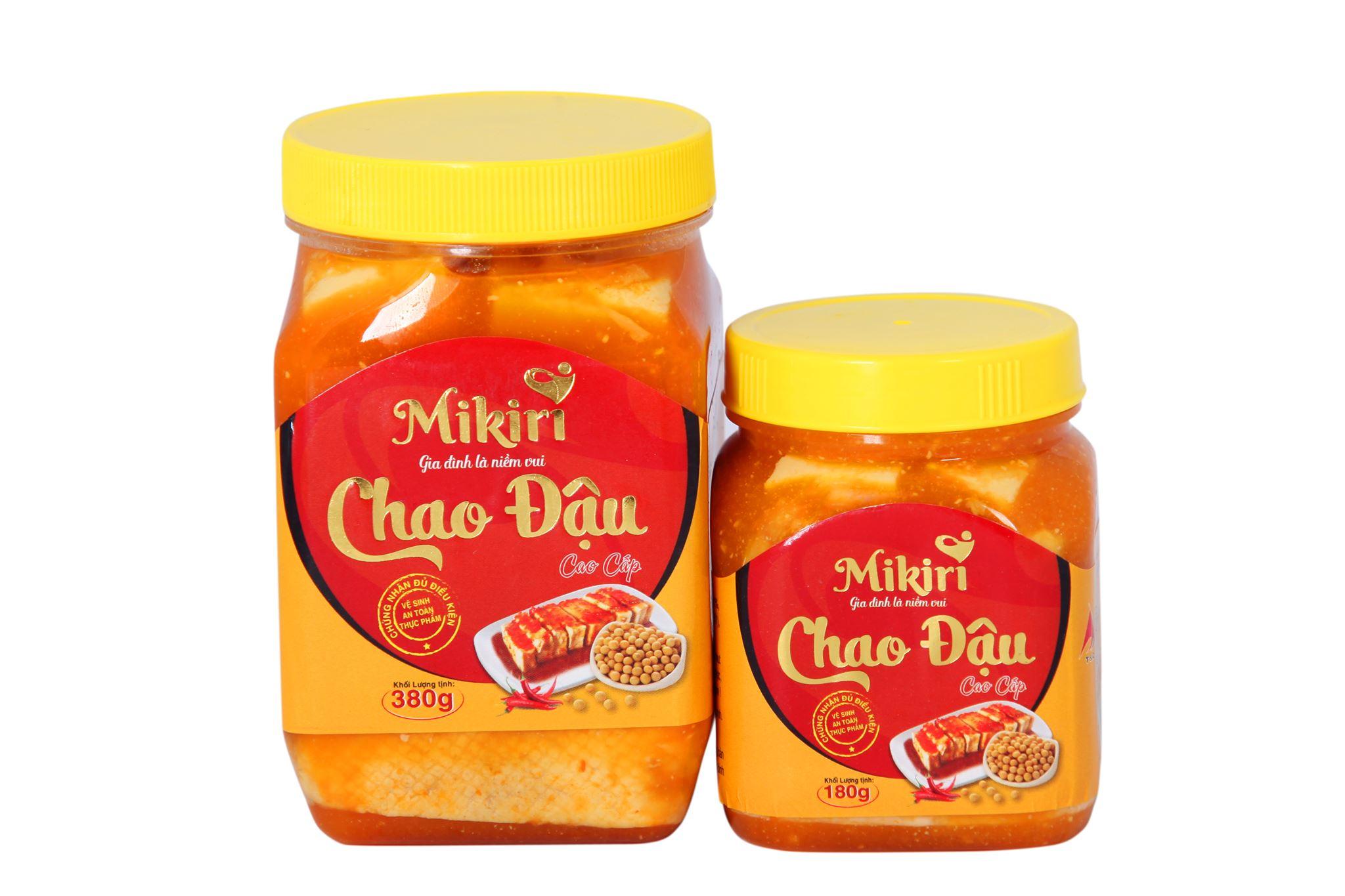 Quán ăn, ẩm thực: Chao Mikiri - Món ăn lên men với công nghệ hiện đại. Chao-dau-dinh-duong