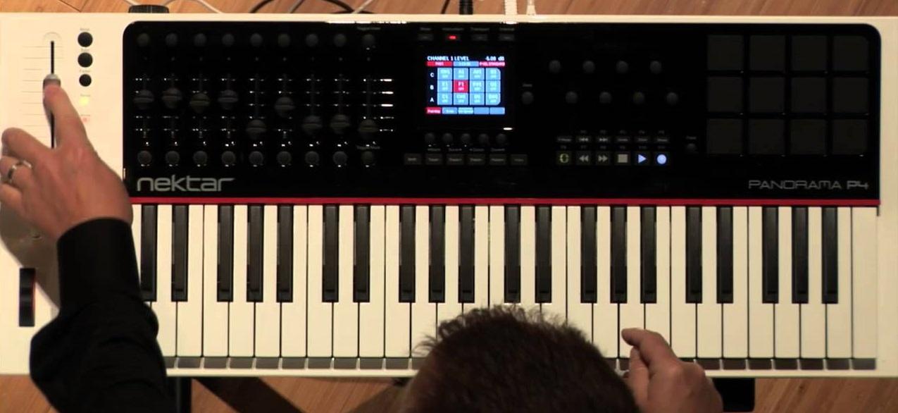 Nektar Panorama P6 61-keyboard MIDI Controller