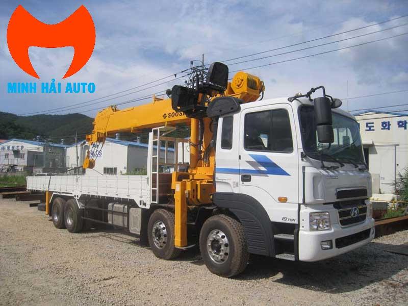 Bán xe cẩu tự hành 15 tấn Soosan Hyundai