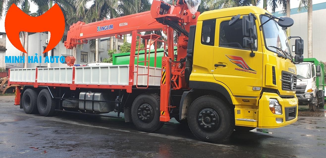 Bán xe cẩu 15 tấn HKTC Kanglim Soosan lắp Dongfeng