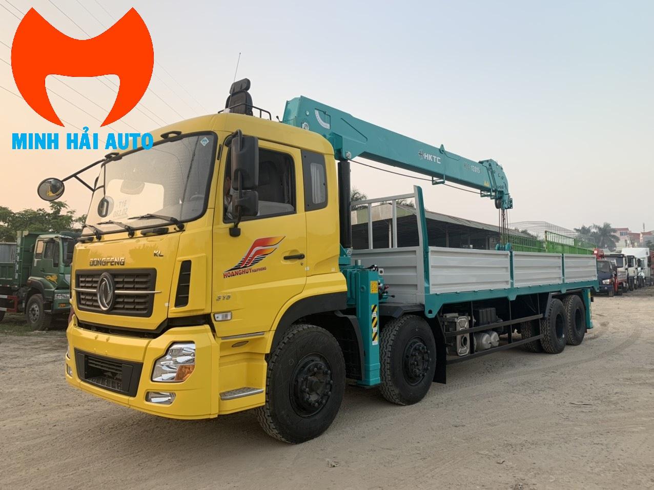 Bán xe cẩu thùng 10 tấn HKTC- Dongfeng