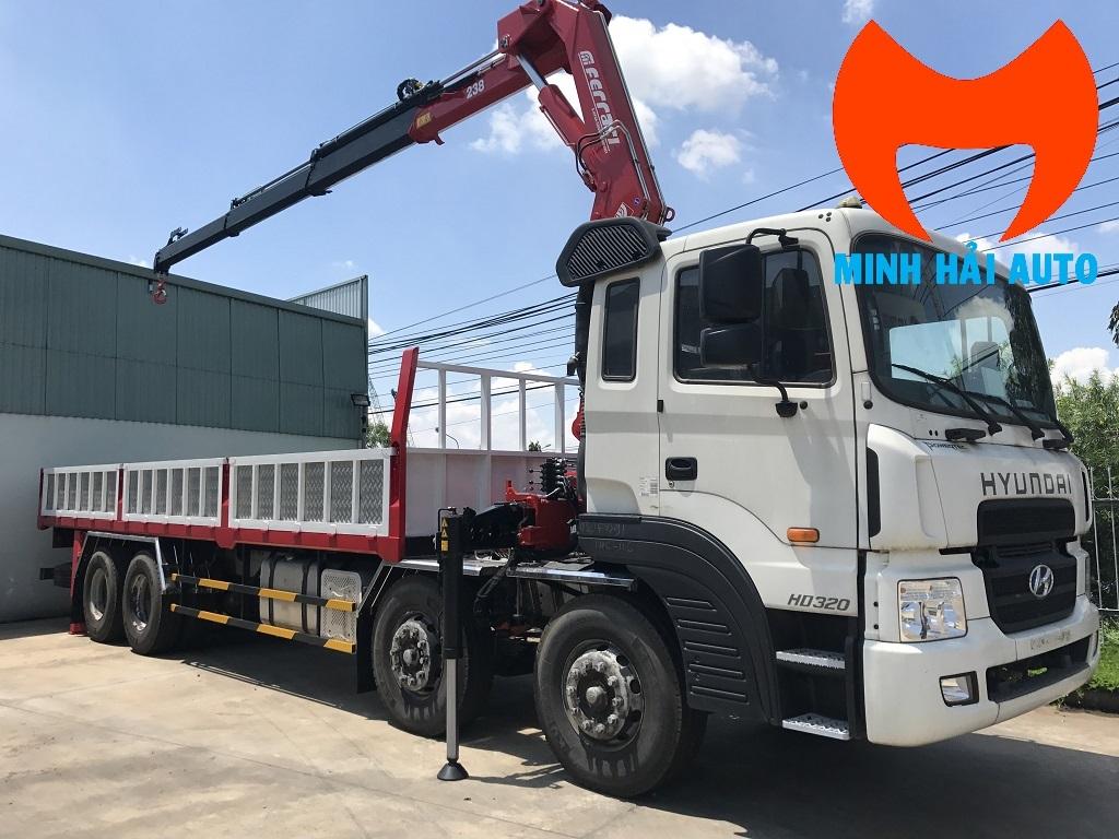 Bán xe tải cẩu 8 tấn gấp khúc robot