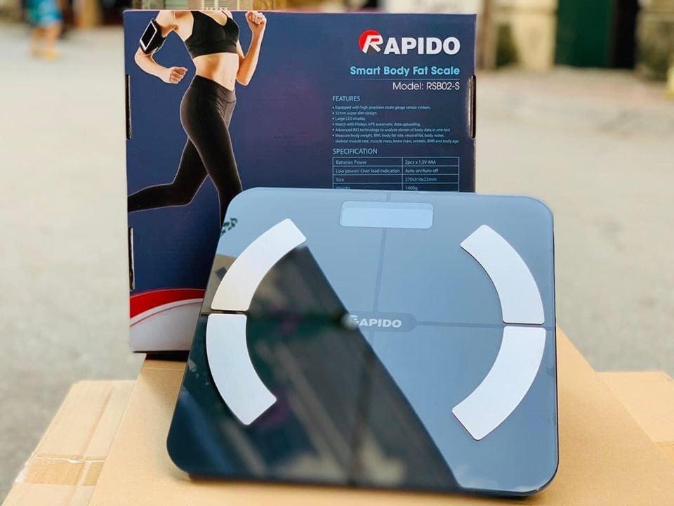 Cân sức khỏe thông minh Rapido RSB02-S (Có bluetooth)
