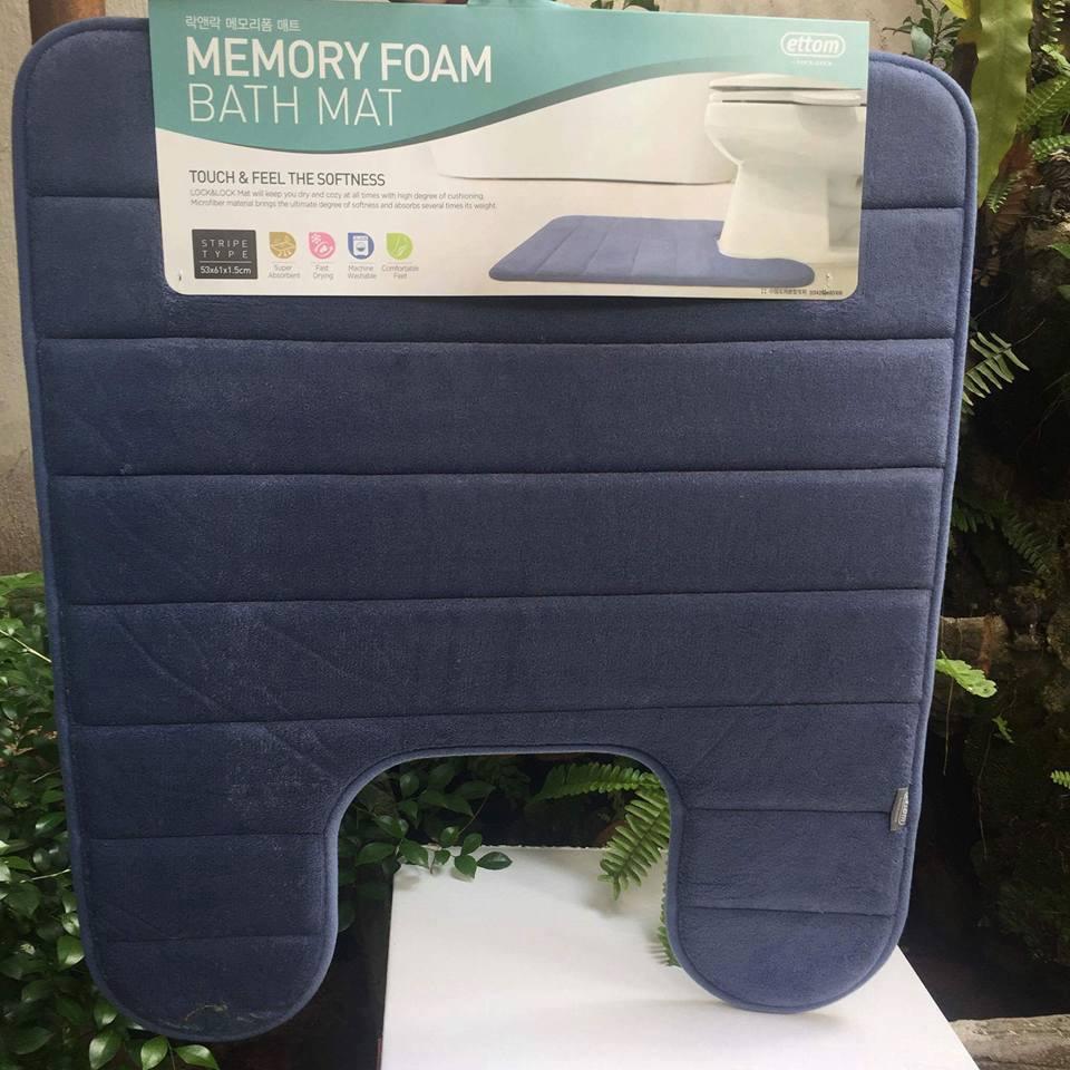 Thảm chùi chân bồn cầu Lock&Lock Memory Foam