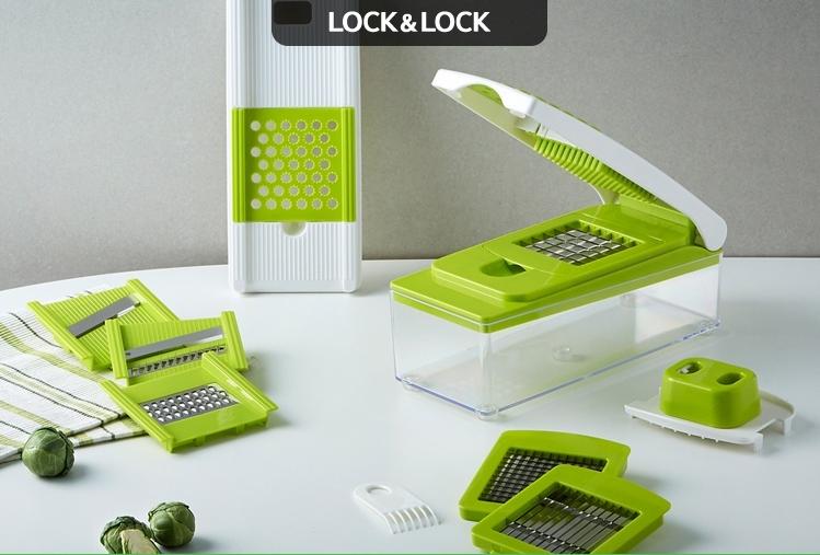 Bộ dụng cụ cắt rau đa năng Lock and Lock VEGETABLE GRATER