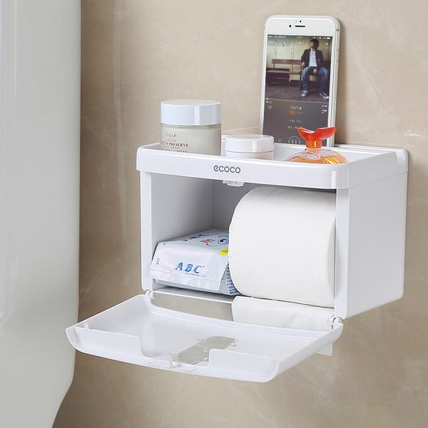 Hộp đựng giấy vệ sinh đa năng Ecoco