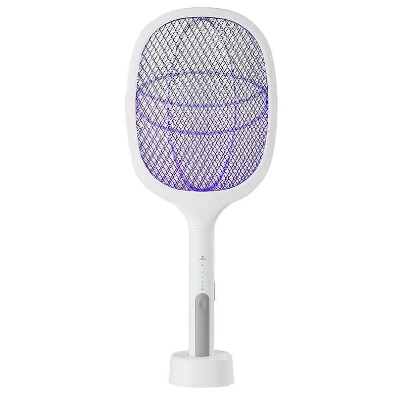 Vợt Muỗi Kiêm Đèn Bắt Muỗi Đa Năng Tích Điện 2 Trong 1
