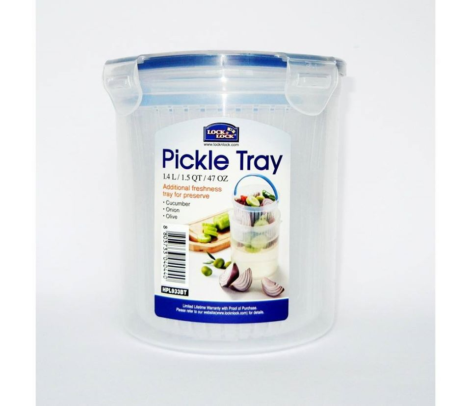 Hũ muối thực phẩm Lock&Lock bằng nhựa PP