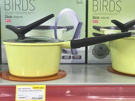 Nồi Lock&Lock Birds LBS1244LG-IH 24cm