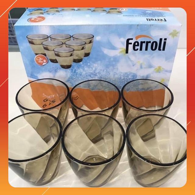 Bộ cốc Ferroli 6 món