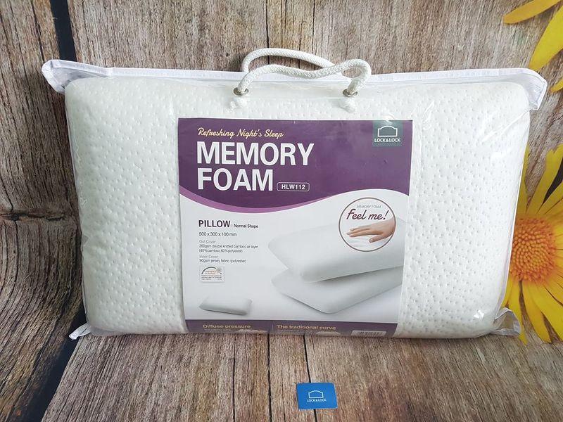 Gối Lock&lock HLW112 memory foam