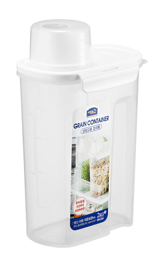 Hộp nhựa bảo quản thực phẩm, ngũ cốc 2.4L Lock&Lock HPL520