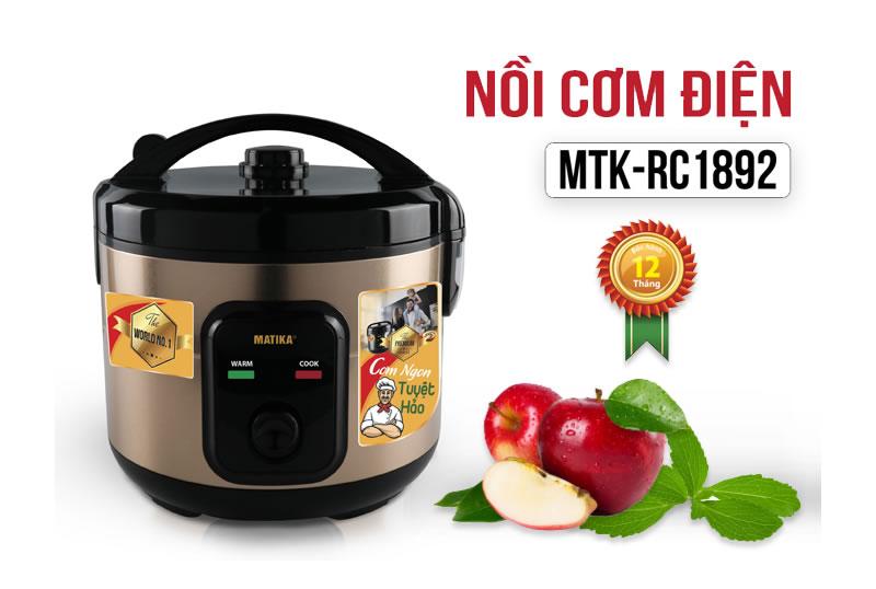 Nồi cơm điện Matika MTK-RC1892
