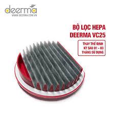 Bộ lọc Hepa thay thế cho máy hút bụi Deerma VC25 (Sản phẩm gốc, chất lượng cao
