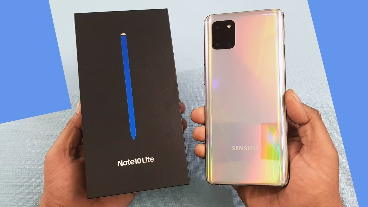 Samsung Galaxy Note 10 Lite 128GB (Like New)   FASTMOBILE.VN