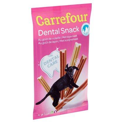 Bánh Xương Sạch Răng Carrefour Dental Snack Pháp (Gói 7 xương)