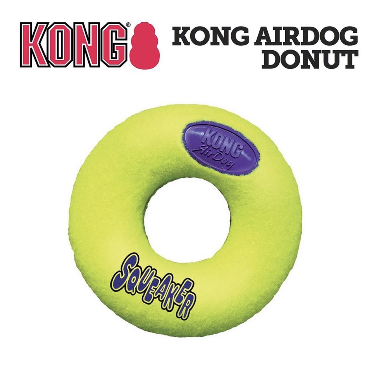 Đồ Chơi KONG AirDog Squeaker Donut USA