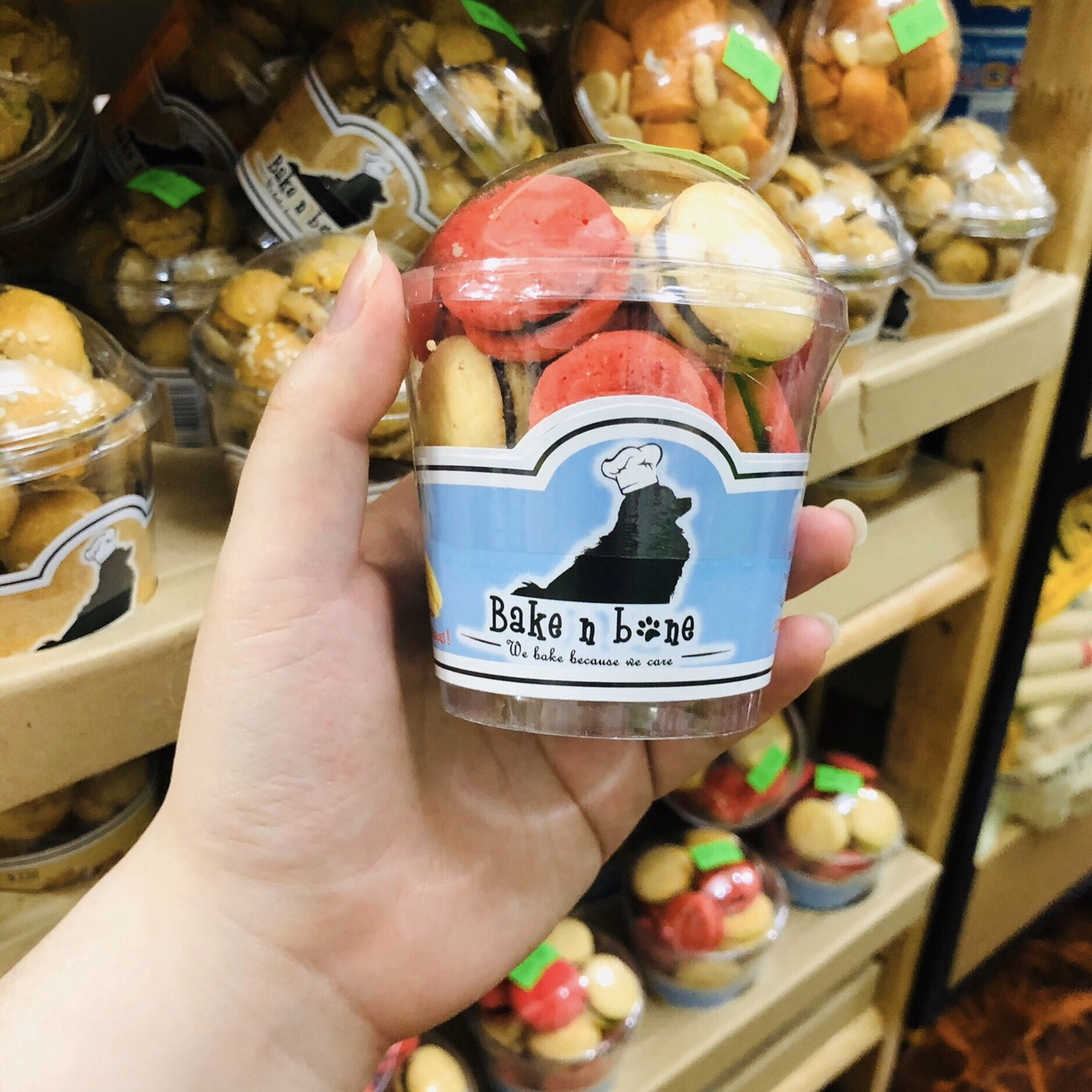 Bánh Macaron Gan Heo