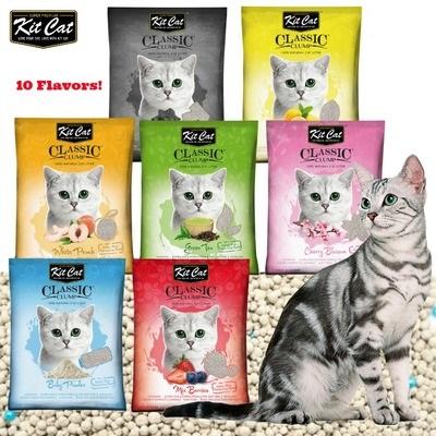Cát Vệ Sinh cho Mèo KitCat Sỏi CLASSIC CLUMP 10L