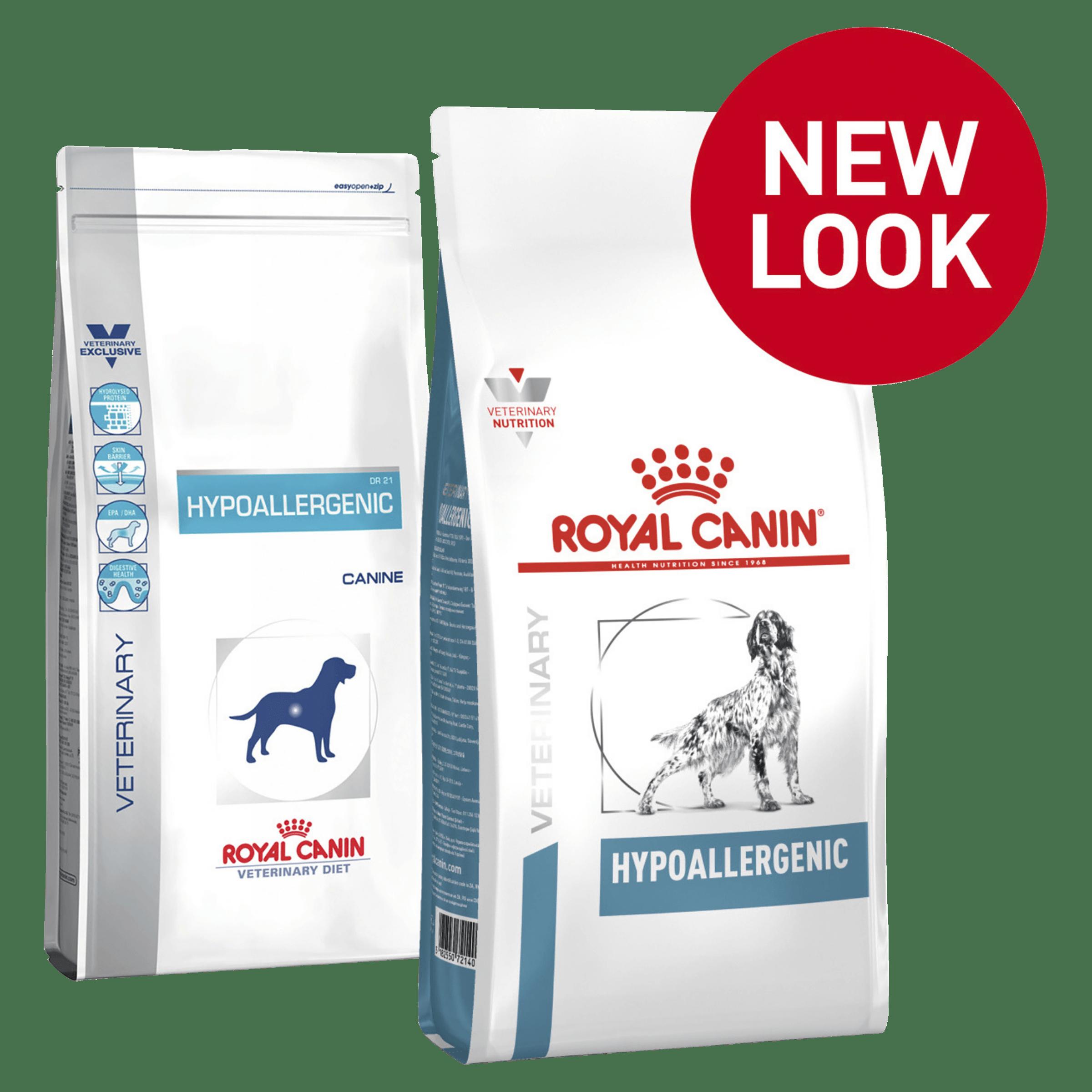ROYAL CANIN HYPOALLERGENIC - DỊ ỨNG cho Cún 2kg