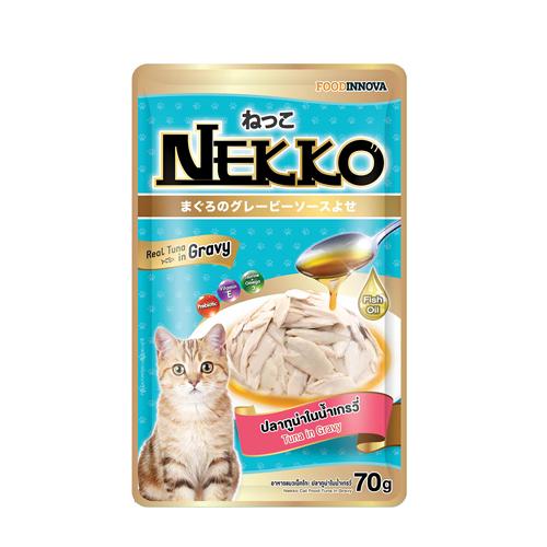 Pate Nekko Tuna in Gravy 70g (12 gói)